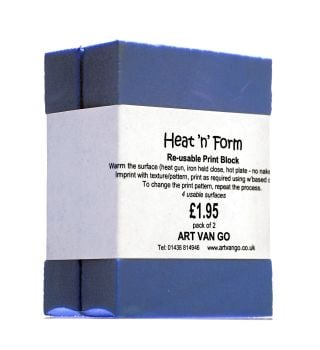 BACK IN STOCK! Heat & Form 8x6x3cm - pair