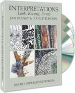 !*NEW*! INTERPRETATIONS Look, Record, Draw - 3 DVD Set - Jan Beaney & Jean Littlejohn