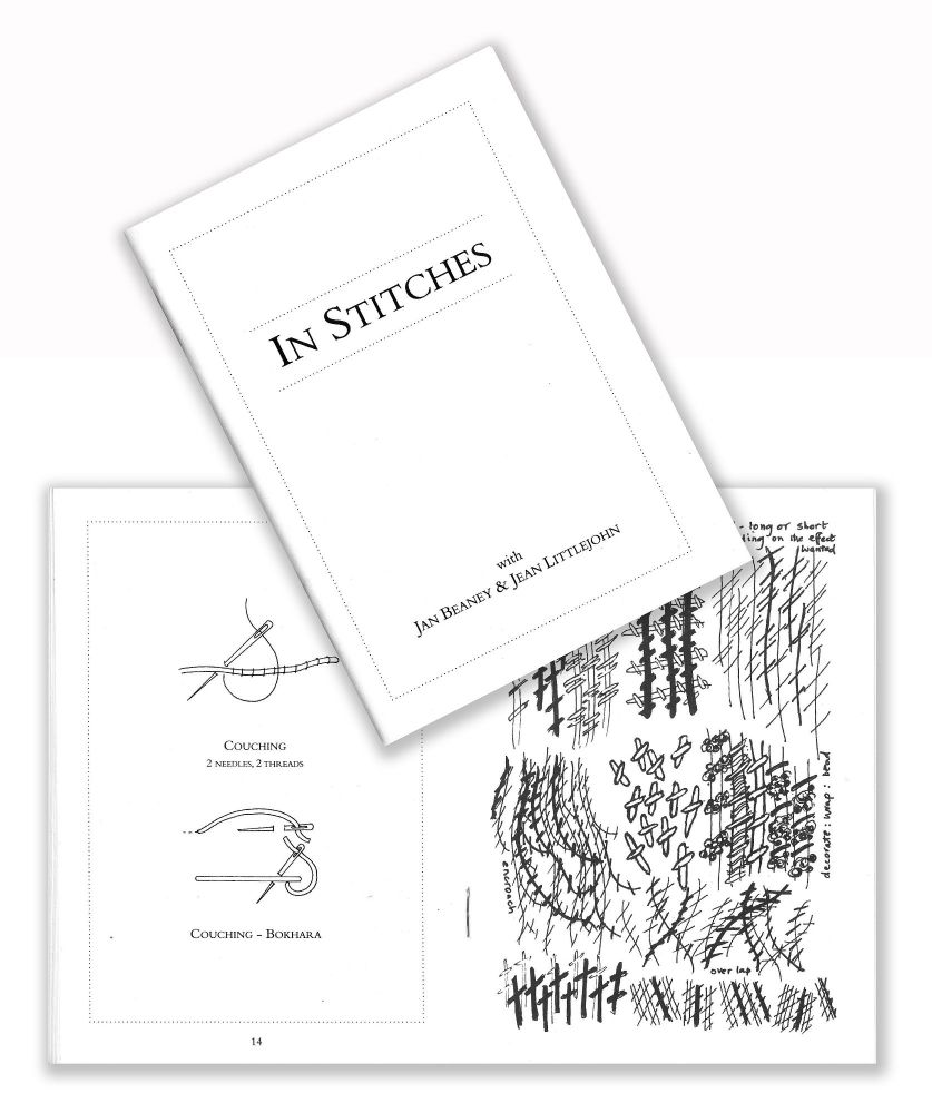 **NEW** In Stitches - Stitch Booklet with Jan Beaney & Jean Littlejohn