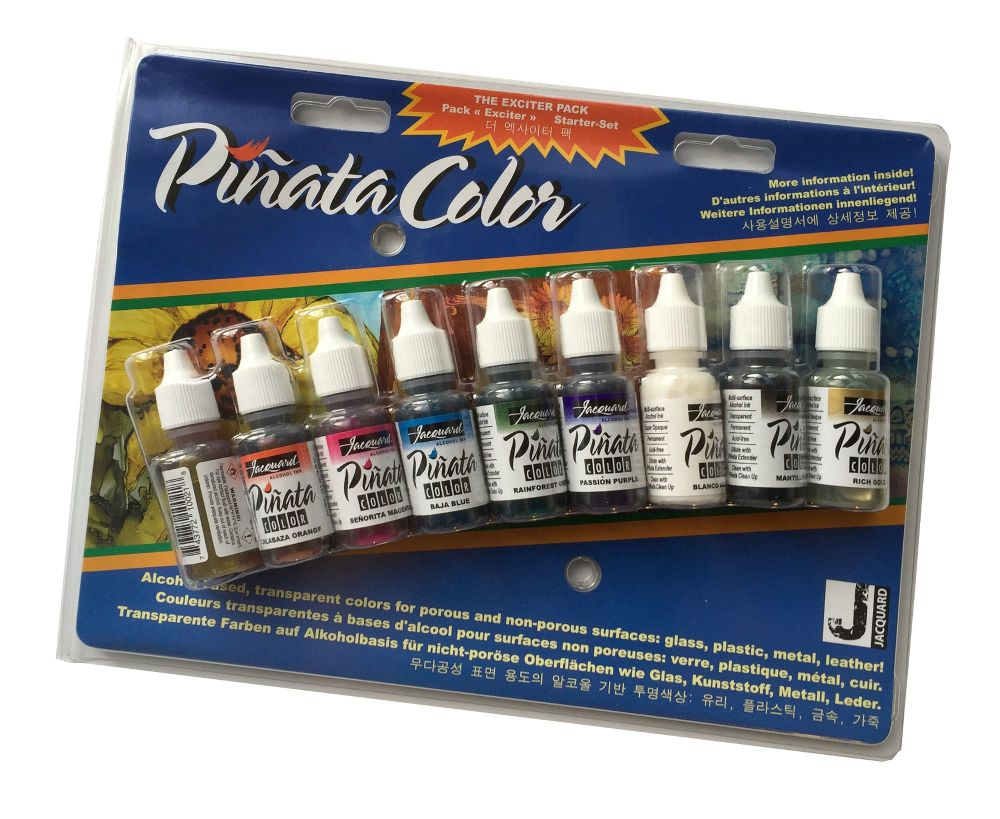 Jacquard Exciter Pack - Piñata Alcohol Inks
