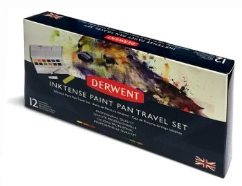 **NEW** Derwent Inktense Paint Pan Travel Set