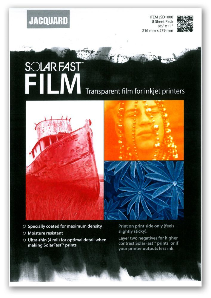 *NEW* SolarFast Film 8 Sheet Pack