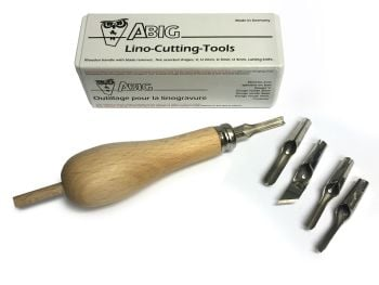 ABIG Lino Cutting Tool - Contour Handle - Plastic Case