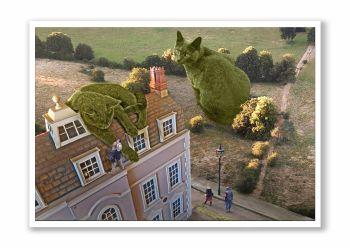 Topiary Cat High Jinks