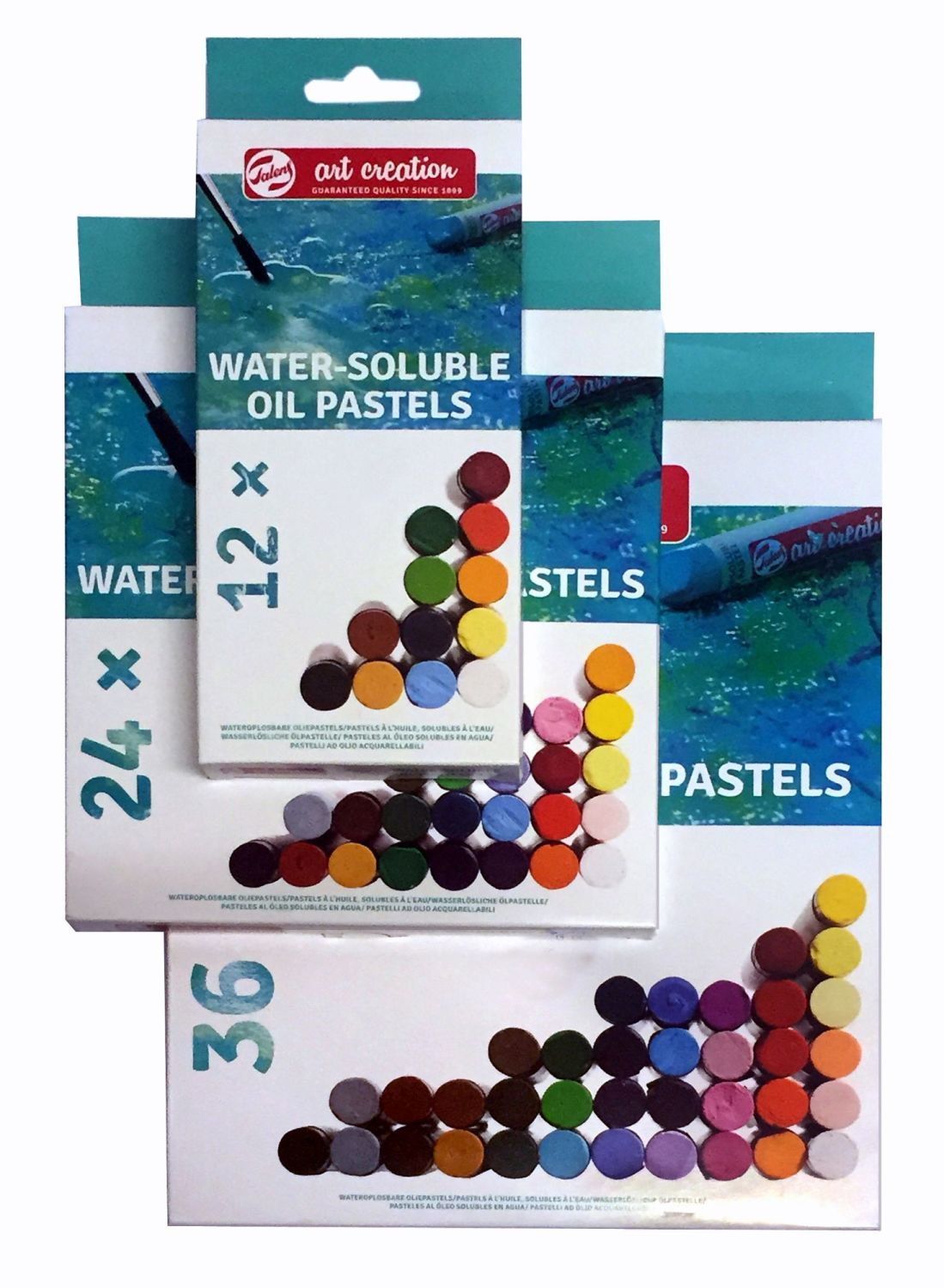 !! NEW - SPECIAL PRICE !! Talens Art Creation Water-Soluable Oil Pastel Set