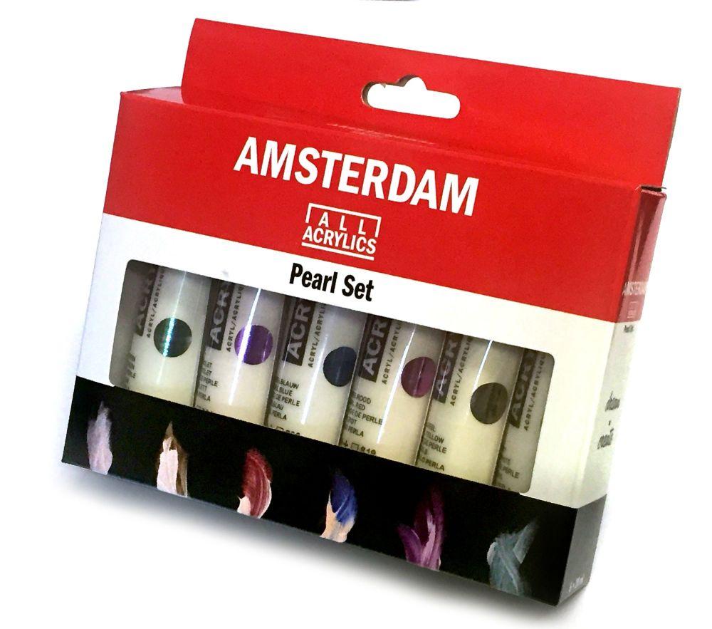 AMSTERDAM Standard Acrylics Pearl Set