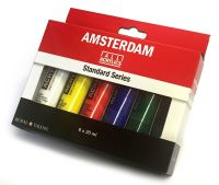 !!NEW - SPECIAL PRICE!! Talens ALL ACRYLICS Standard Series Set Amsterdam