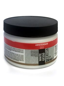 !!NEW - SPECIAL PRICE!! Talens ALL ACRYLICS White Gesso 250ml Amsterdam