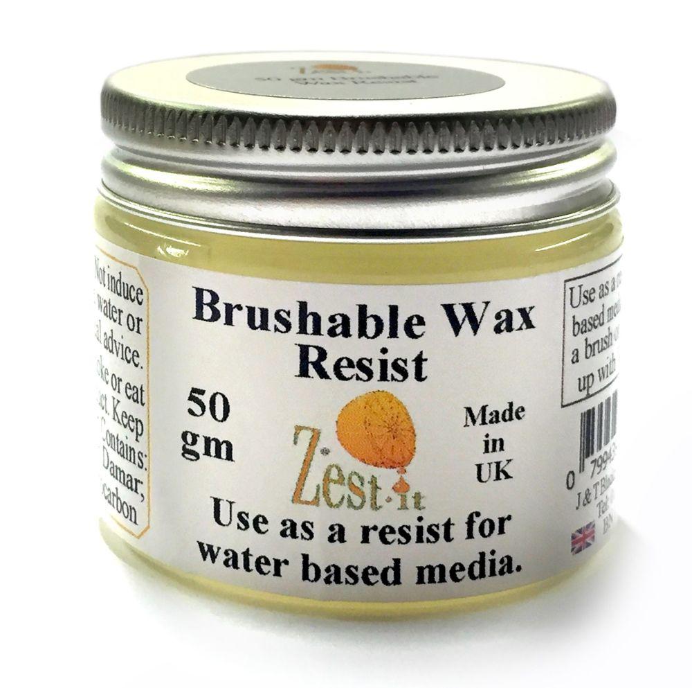 Zest It Brushable Wax Resist