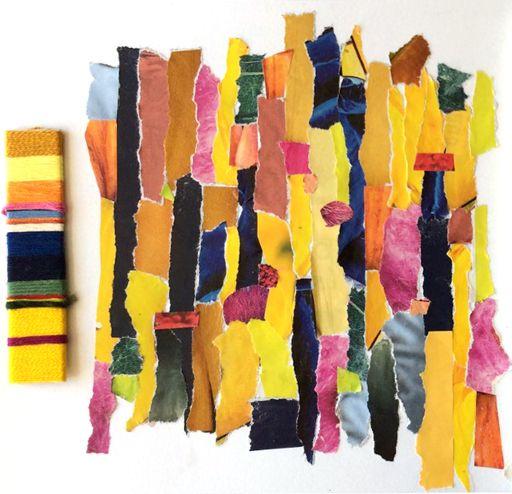 Julia Triston analysing colour 1a