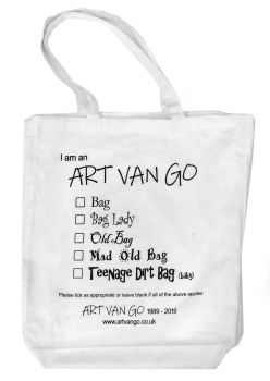Art Van Go Tote Bag - 1989 - 2019