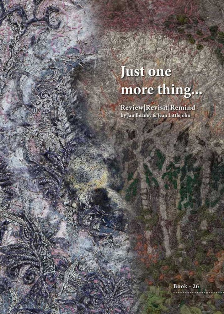 BOOK 26 - JUST ONE MORE THING…REVIEW, REVISIT, REMIND. By Jan Beaney and Je