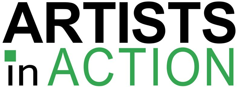 Artists in Action logo