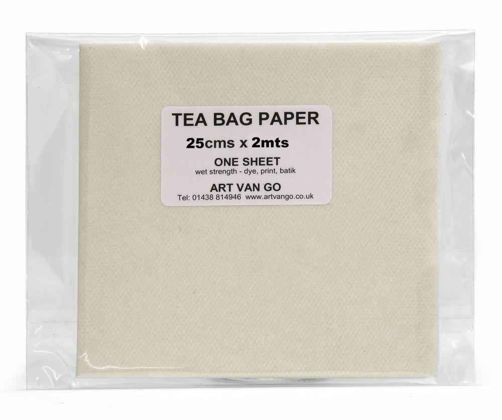 Tea Bag Paper 25 x 200cms