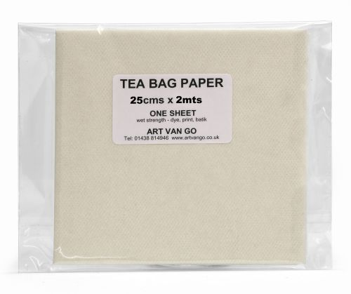 Tea Bag Paper 25 x 200cms Un-Perforated