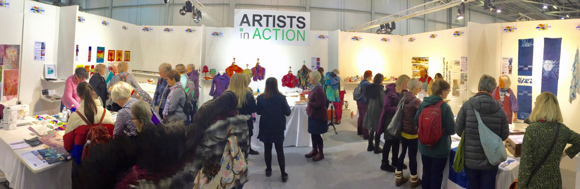 Artists in Action in Harrogate