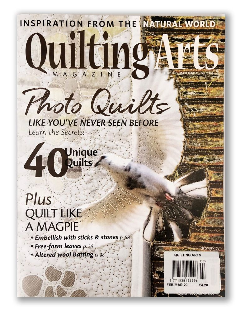 Quilting Arts  - ISSUE 103 (Feb/March 2020)