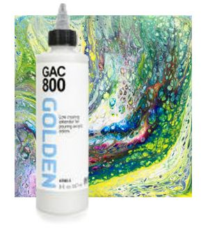 Golden Acrylic Pouring Medium (GAC 800) 237ml