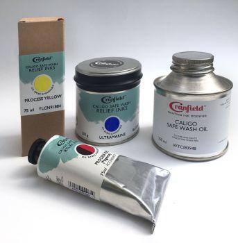 Caligo Safe Wash Relief Printing Inks