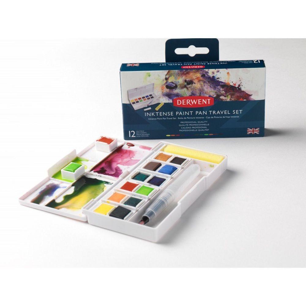 <!--040-->Derwent Inktense Paint Pan Travel Set