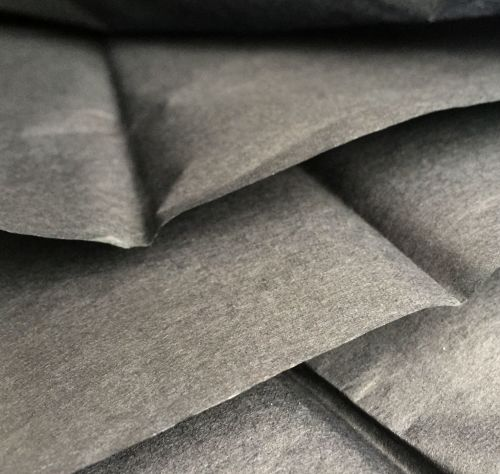 Black Discharge Tissue Sheets