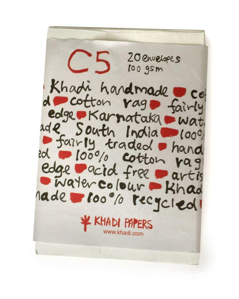 Khadi C5 Envelope Pack