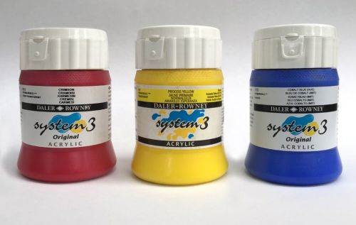 System 3 Acrylic 250ml - LOW PRICE!!!
