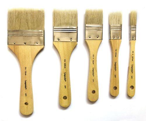 Royal Flat Bristle Brush - Various Sizes