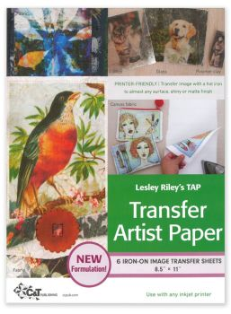 Transfer Artist Paper - Pack of 6 or 18 sheets