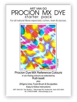 Art Van Go Procion Dyes - Starter Pack