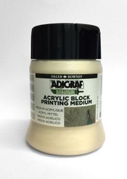 Daler Rowney ADIGRAF Acrylic Block Printing Medium - 250ml