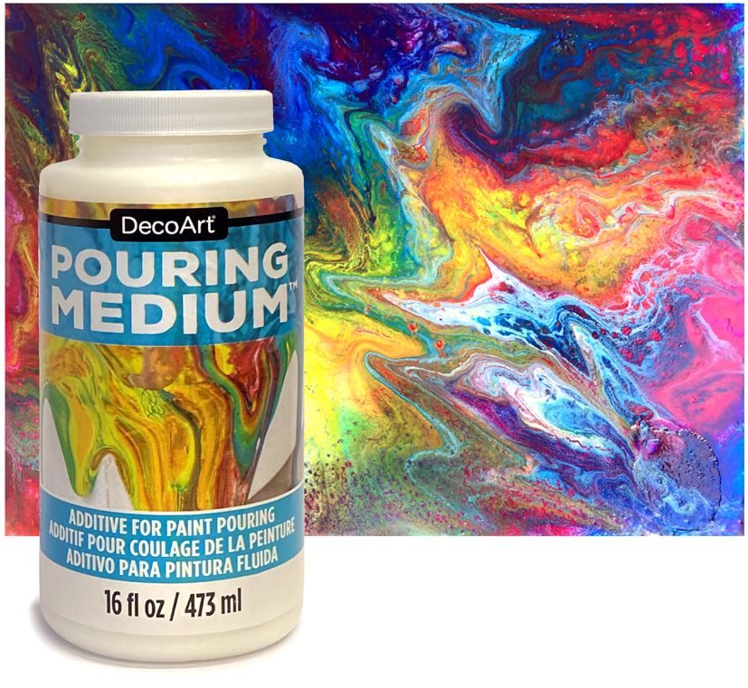 <!--015.1-->DecoArt Paint Pouring Medium 473ml