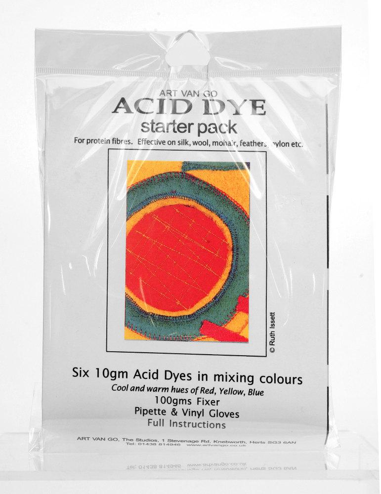 Art Van Go Acid Dye Starter Pack