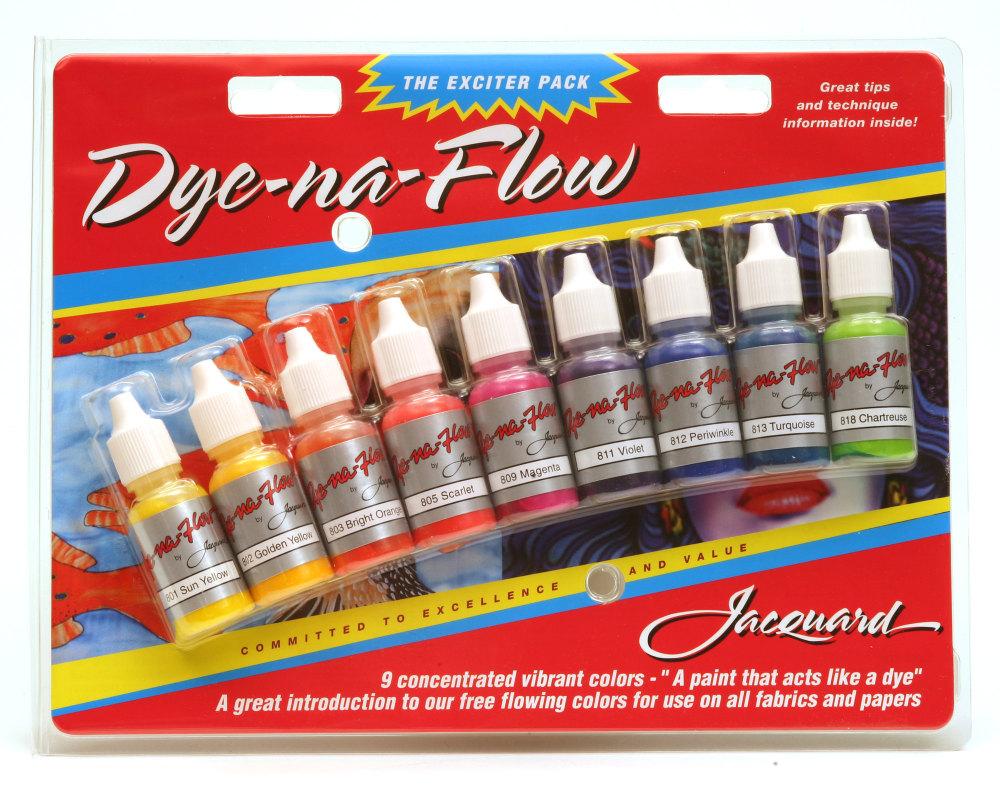 Jacquard Exciter Pack - Dye-Na-Flow
