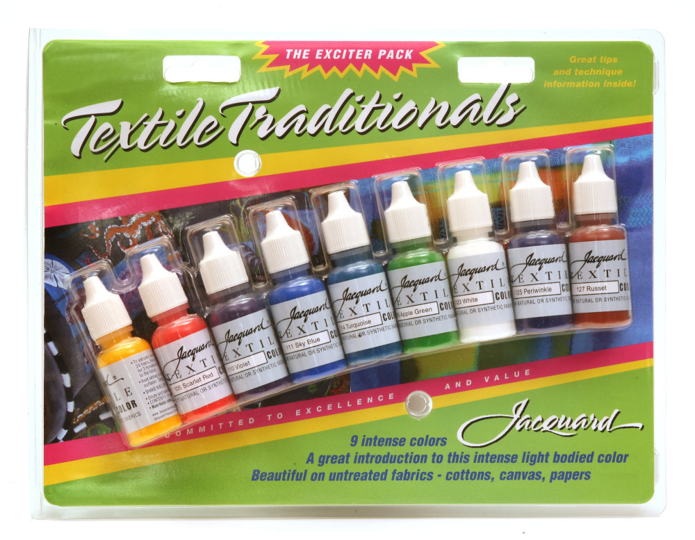 Jacquard Exciter Pack - Textile Standard Colour