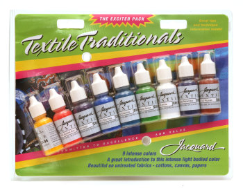 Jacquard Exciter Pack - Textile Standard Paint