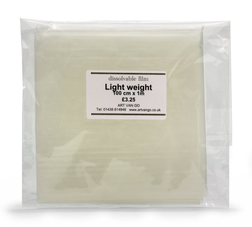 Watersoluble film - Lightweight 1m x 1m