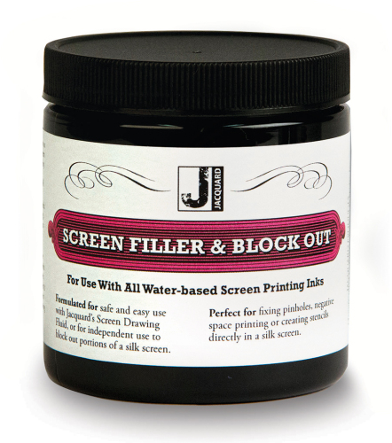 Jacquard Screen Filler & Block Out 236ml