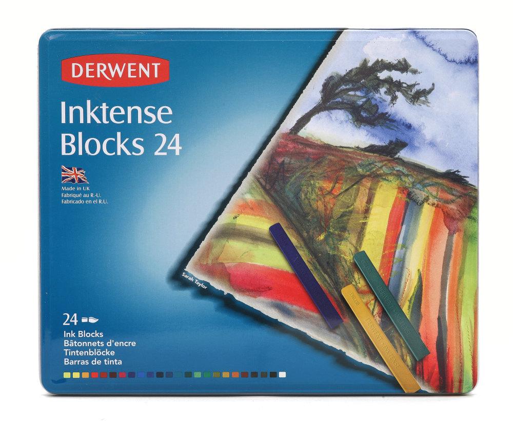 Derwent Inktense Blocks 24 Set