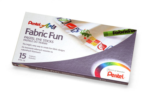 Pentel Fabric Fun Crayons