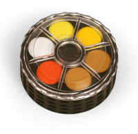 Koh-I-Noor 24 Disc Dye Based Watercolour Roundel