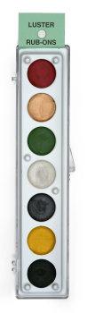 Metallic Rub Ons Kit #4 (Green Label).