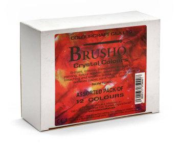 Brusho 12 Colour Set