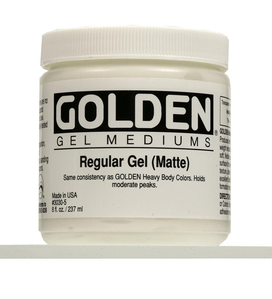 Golden Regular Gel Matt 237ml
