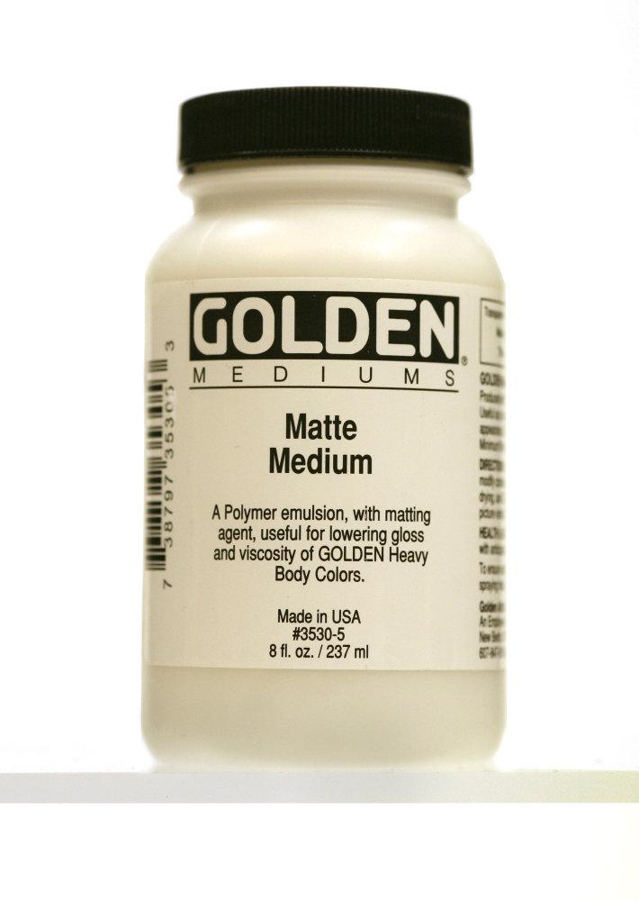 Golden Matt Medium 237ml