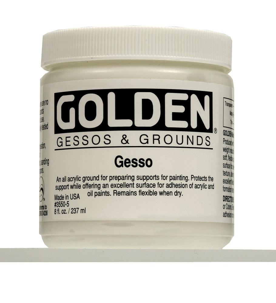 Golden Gesso 237ml