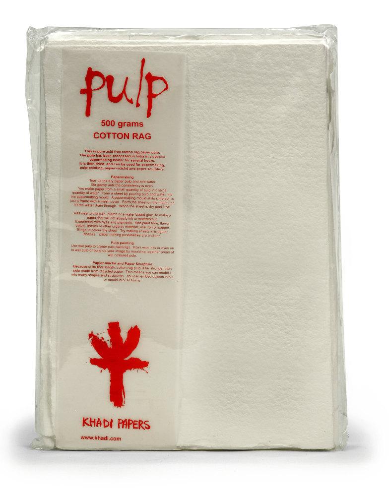 Cotton Rag Pulp 500g