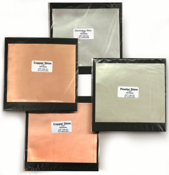 Metal Shims 15x15cm INDIVIDUAL PRICES FROM: