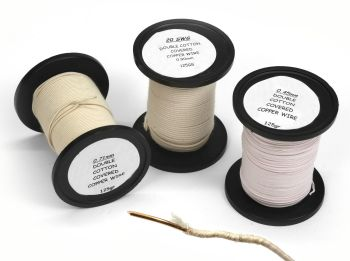 Double Cotton Covered Copper Wire Reels