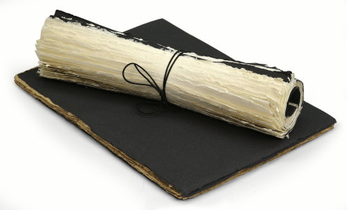 Indian Cotton Roll Up Sketchbooks
